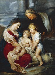 Rubens | The Holy Family with the Lamb | Giclée Canvas Print