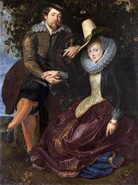 Rubens | Rubens and Isabella Brant under the Honeysuckle | Giclée Canvas Print