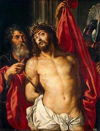 Rubens | The Crown of Thorns (Ecce Homo), c.1612 by | Giclée Canvas Print
