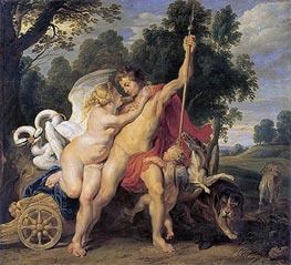 Rubens | Venus and Adonis | Giclée Canvas Print