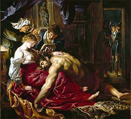 Rubens | Samson and Delilah | Giclée Canvas Print