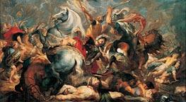Rubens   The Death of Decius Mus in Battle   Giclée Canvas Print