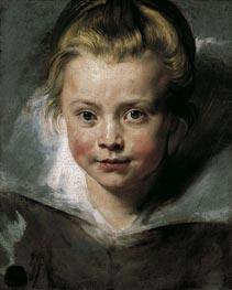 Rubens   Portrait of Clara Serena Rubens   Giclée Canvas Print