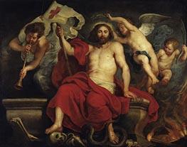 Rubens   Christ Triumphant over Sin and Death   Giclée Canvas Print