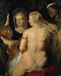 Rubens | Venus in Front of the Mirror, c.1613/14 by | Giclée Canvas Print