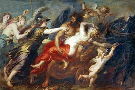 The Rape of Proserpina, c.1636/38 by Rubens | Giclée Canvas Print