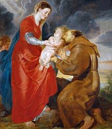 Rubens | The Virgin Presents the Infant Jesus to Saint Francis | Giclée Canvas Print