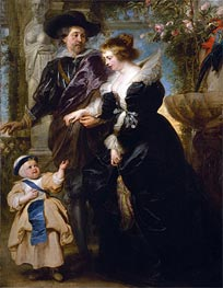 Rubens | Rubens, His Wife Helena Fourment and One of Their Children | Giclée Canvas Print