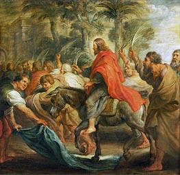 Rubens | Christ's Entry into Jerusalem | Giclée Canvas Print