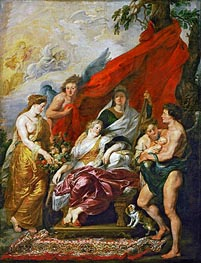 Rubens | The Birth of Louis XIII at Fontainebleau, 27th September 1601 (The Medici Cycle) | Giclée Canvas Print
