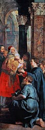 Rubens   Presentation in the Temple (Descent from Cross Altarpiece - Right Panel), c.1611/14   Giclée Canvas Print