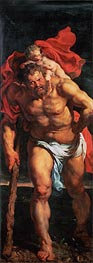 Rubens   Saint Christopher (Descent from Cross Altarpiece - Closed Left Side), c.1611/14   Giclée Canvas Print