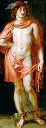 Rubens   God Mercury, c.1636/38   Giclée Canvas Print