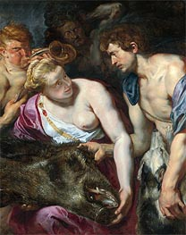 Atalanta and Meleager, c.1616 by Rubens | Giclée Canvas Print
