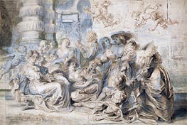 Rubens | The Garden of Love (Right Part), undated | Giclée Paper Print