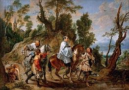 Rubens | Act of Devotion by Rudolf I of Habsburg, b.1630 | Giclée Canvas Print