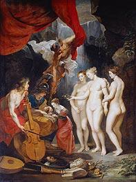 Rubens | Education of Marie de Medici, c.1621/25 | Giclée Canvas Print