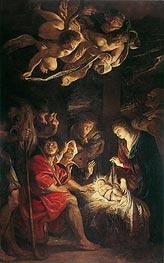 Rubens | Adoration of the Shepherds, 1608 | Giclée Canvas Print