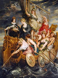 Rubens | The Majority of Louis XIII 20th October 1614 (The Medici Cycle), c.1621/25 | Giclée Canvas Print