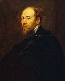 Rubens | Self Portrait, c.1615 | Giclée Canvas Print