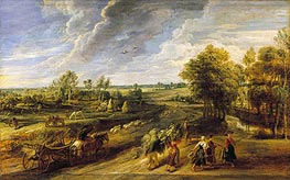 Rubens | Return from the Harvest, c.1635 | Giclée Canvas Print