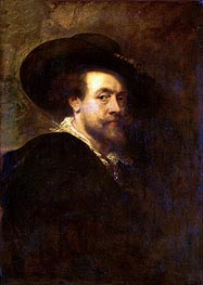 Rubens | Self Portrait, c.1623/25 | Giclée Canvas Print