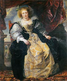 Rubens | Helene Fourment in Her Wedding Dress, c.1630/31 | Giclée Canvas Print