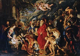 Rubens | Adoration of the Magi, 1609 | Giclée Canvas Print