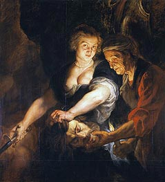 Rubens | Judith with the Head of Holofernes, c.1616 | Giclée Canvas Print