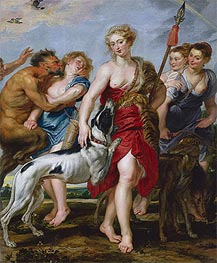 Rubens | Diana and Her Nymphs Departing for the Hunt, c.1615 | Giclée Canvas Print