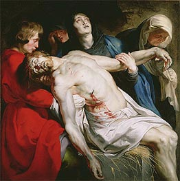 Rubens | The Entombment, c.1612 | Giclée Canvas Print