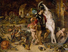 Rubens | The Return from War (Mars Disarmed by Venus), c.1610/12 | Giclée Canvas Print