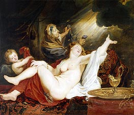 Rubens | Danae and the Shower of Gold, undated | Giclée Canvas Print
