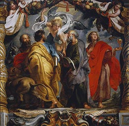 Rubens | The Four Evangelists, c.1625 | Giclée Canvas Print
