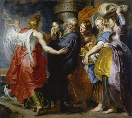 Rubens | The Departure of Lot and His Family from Sodom, c.1613/15 | Giclée Canvas Print