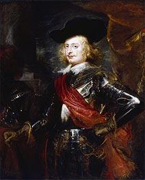 Rubens   Portrait of Archduke Ferdinand   Giclée Canvas Print
