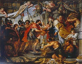 Rubens | The Meeting of Abraham and Melchizedek, c.1625 | Giclée Canvas Print
