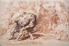 Rubens | Hercules Strangling the Nemean Lion | Giclée Canvas Print