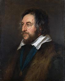 Rubens | Portrait of Thomas Howard, 2nd Earl of Arundel, c.1629/30 | Giclée Canvas Print