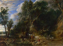 Rubens | The Watering Place, c.1615/22 | Giclée Canvas Print