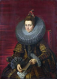 Rubens | Portrait of the Infanta Isabella | Giclée Canvas Print