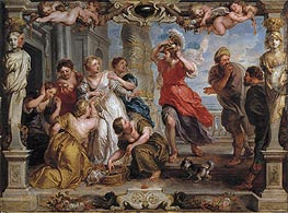 Rubens | Achilles Discovered by Ulysses Among the Daughters of Lycomedes, c.1625/30 | Giclée Canvas Print
