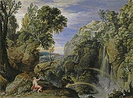 Rubens | Landscape with Psyche and Jupiter, c.1610 | Giclée Canvas Print
