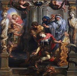 Rubens | Death of Achilles, c.1630/35 | Giclée Canvas Print