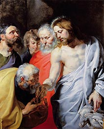 Christ's Charge to Peter, c.1616 by Rubens | Giclée Canvas Print