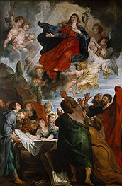 Rubens | The Assumption of the Virgin Mary, c.1616/18 | Giclée Canvas Print