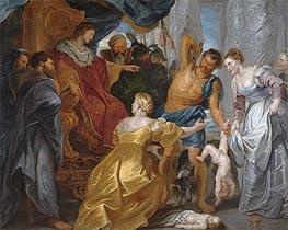 Rubens | The Judgement of Solomon, c.1617 | Giclée Canvas Print