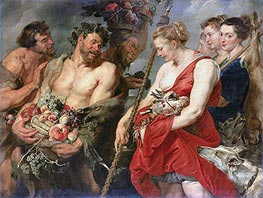 Rubens | Diana Returning from the Hunt, c.1616 | Giclée Canvas Print