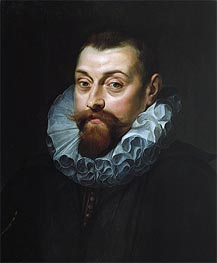 Rubens | Portrait of a Man, c.1597/99 | Giclée Canvas Print