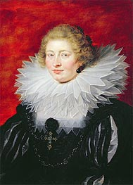 Rubens | Portrait of Madame de Vicq, 1625 | Giclée Canvas Print